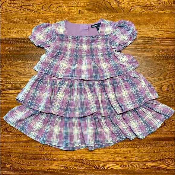 NWT BABY GAP GIRLS DRESS crinkle tiered stripe   you pick size